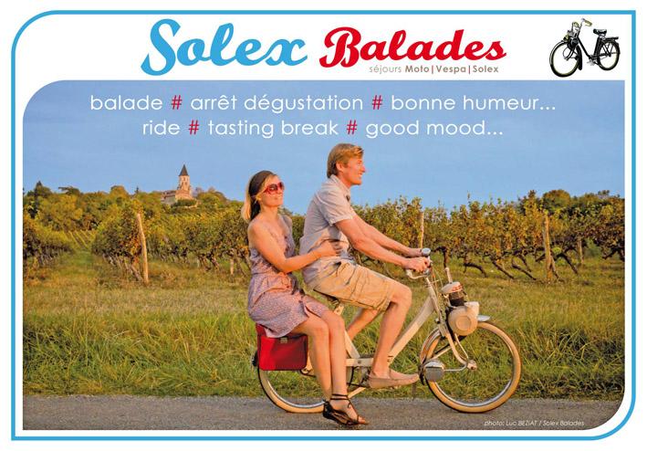 loisir balades Solex Tarn Gaillac Albi