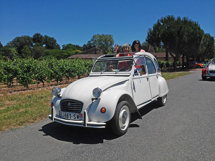 week-end Citroën 2cv Tarn Gaillac Albi