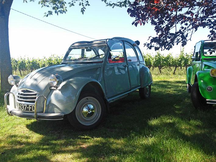 week-end Citroën 2cv Tarn Gaillac
